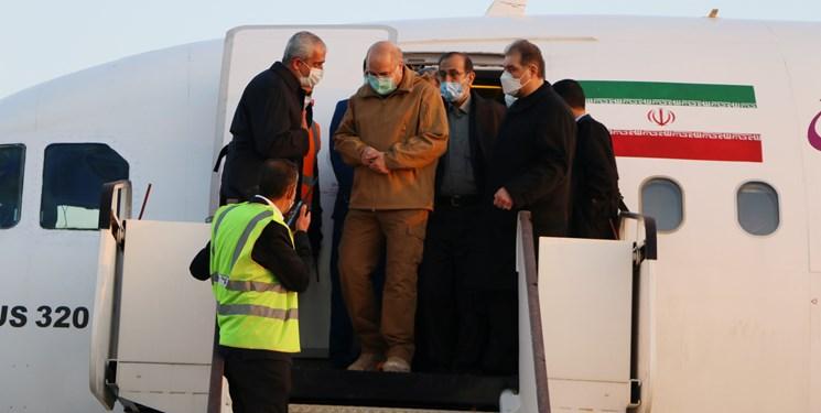 رئیس مجلس شورای اسلامی وارد کردستان شد